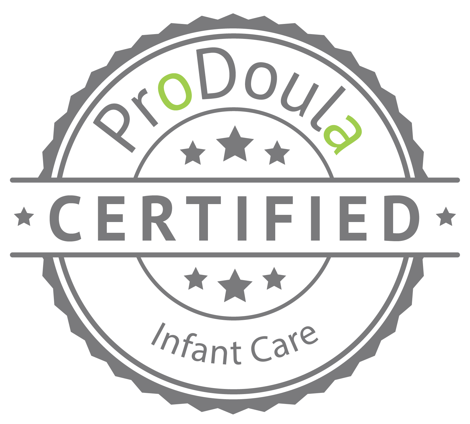 ProDoula Infant Care Certified Badge