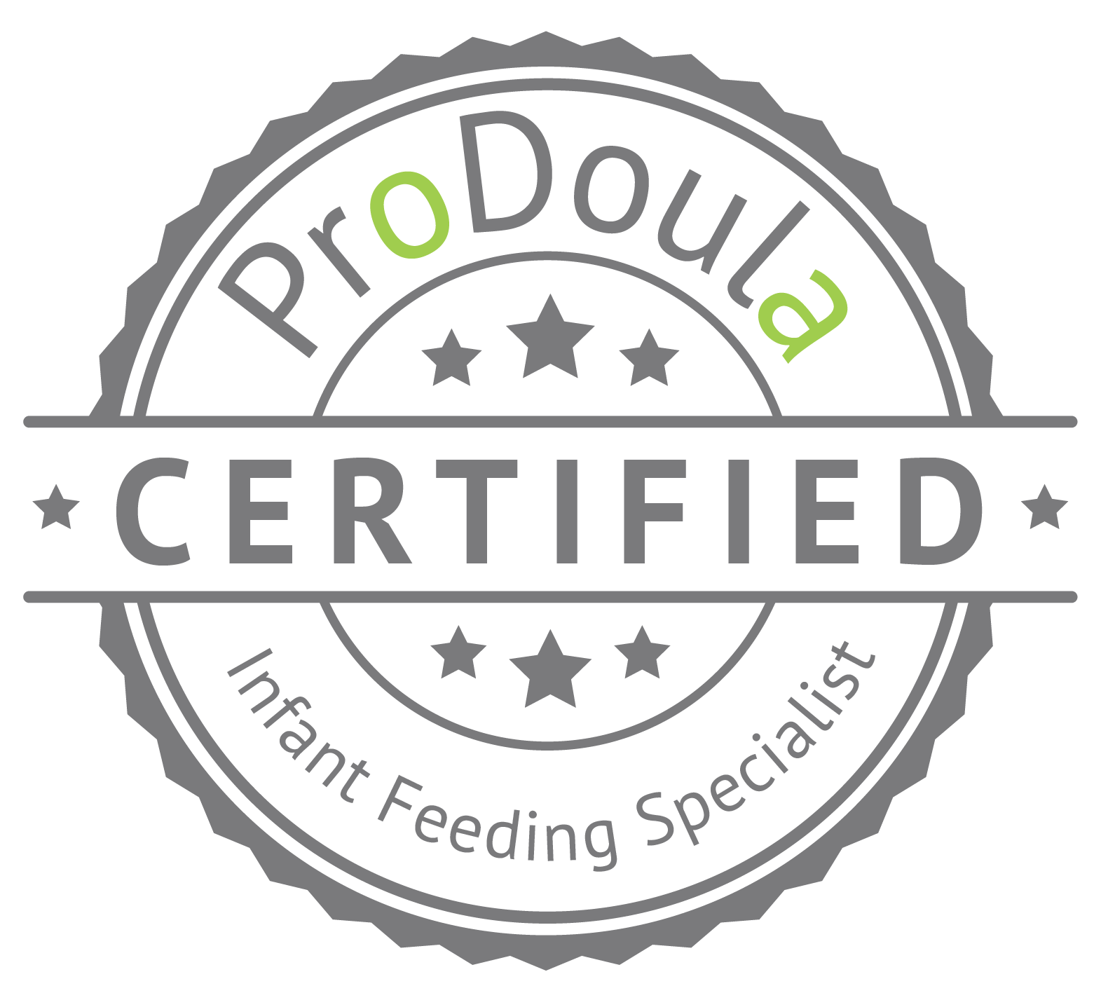 ProDoula Certified Infant Feeding Specialist Badge